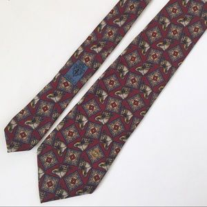 Gucci Men's 100% silk horse tie